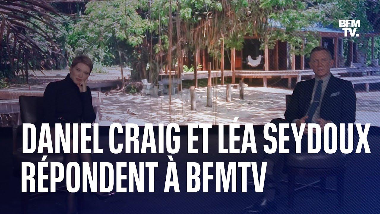 James Bond: Daniel Craig et Léa Seydoux répondent aux questions de BFMTV