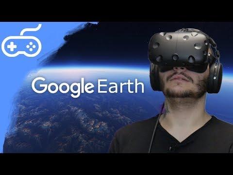 MŮŽU JÍT KAM CHCI! - Google Earth VR (HTC Vive)