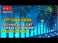 Technical alert for KSE100 for 27th Oct 2020 by Khalid Saifuddin