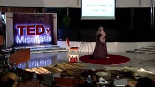 Women eradicating the world's darkness | Mona Alshepani | TEDxMisurata