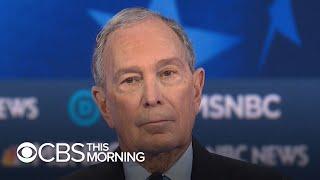 Did Mike Bloomberg survive his first debate?