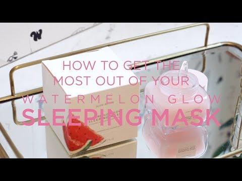 Watermelon Glow Sleeping Mask by glow recipe #6