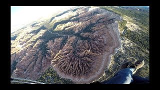 Bryce Canyon National Park from a Paramotor