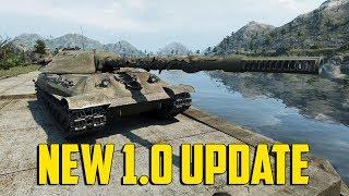 World of Tanks - New 1.0 Update