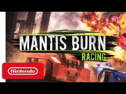 Mantis Burn Racing Teaser Trailer - Nintendo Switch