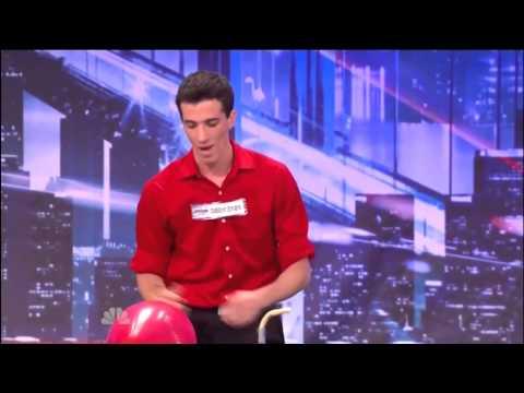 MOST DANGEROUS ACT EVER!! - David Ferman - Americas Got talent auditions (видео)
