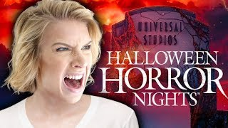 KILLED BY MICHAEL MYERS IN HALLOWEEN HORROR NIGHTS 2018