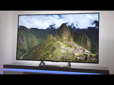 "65"" 4K UHD TV mit HDR im Test - Sony KD-65XE7096 / 7004"