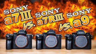 Sony a7 III vs Sony a7R III vs Sony a9: Which To Buy