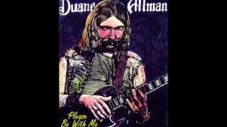 """Duane Allman with Cowboy- """"Please Be With Me"""" (1971)"""