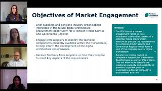 Digital architecture market engagement webinar video thumbnail