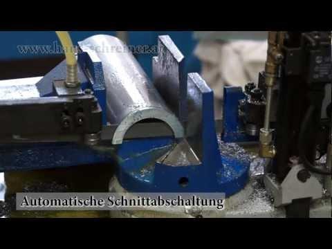 Metallbandsäge MBS 210FH, sägen von Stahl mit der Metall Bandsäge Metallsäge von Hans Schreiner