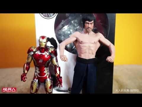 大人的玩具 Storm Collectibles 高像真1/12 Bruce Lee 李小龍雕像 開箱
