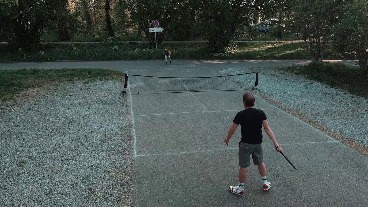 sunset urban tennis