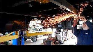 Installing a flatbed on a pickup truck