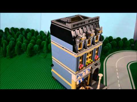 Vidéo LEGO Creator 10218 : L'animalerie