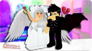 The Angel Who Fell In Love With A Demon.. A Sad Roblox Love Story