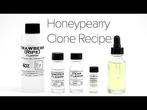 Video DIY E-Liquid Recipe : Honeypearry Clone