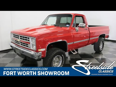 1986 Chevrolet K-10 (CC-1256877) for sale in Ft Worth, Texas
