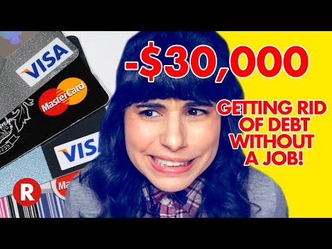 Getting Rid of $30,000 in Credit Card Debt Without a 9-5 Job! // HOW I DID IT