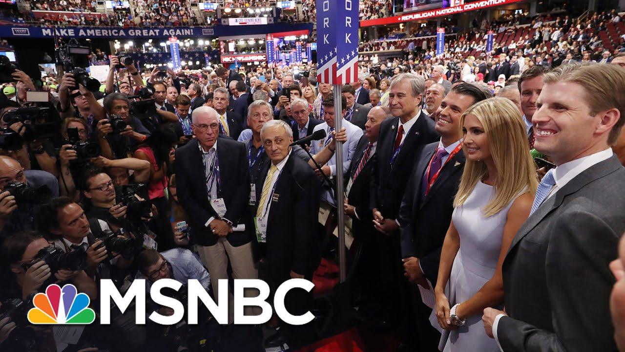 Donald Trump Jr. Calls Father's Nomination Moment 'Surreal'   MSNBC thumbnail
