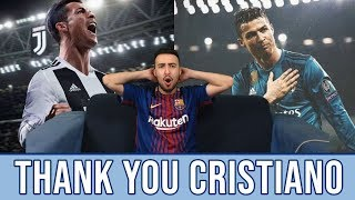 Messi Fan reacts to: THANK YOU CRISTIANO RONALDO | Real Madrid official video Reaction