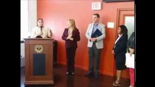 Proclamación a Irmgard Radefeldt, Estado de Rhode Island, EEUU