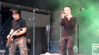 Sven Friedrich feat. Girls Under Glass -  When I think about you - WGT LIVE 2011