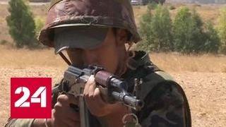 Учебный бой под Дамаском: сирийских военных обучают инструкторы из России