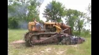#1002 Cute Country Girl Crushes 2 Cars With Big Dozer [Davidsfarm]