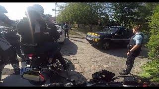 Qu'est ce qu'une sortie moto sans les flics 😂 ft Carlota biker / MT-07 et supermot KTM et 701