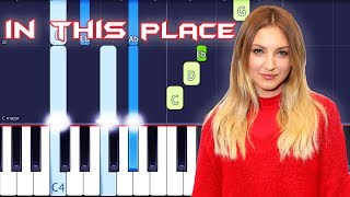 """Julia Michaels   In This Place Piano Tutorial EASY (Piano Cover) (From """"Ralph Breaks The Internet"""")"""