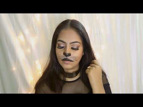 #Halloween2018 | Cat Face Painting | #halloweenmakeuptutorial  | Danu Mua