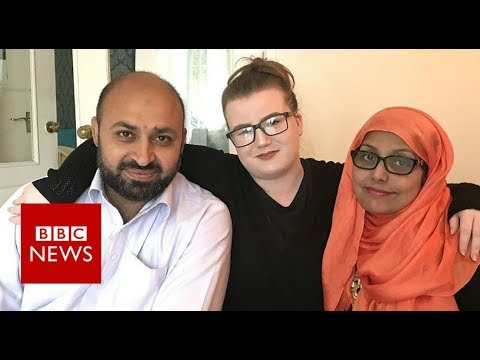 'They're my mum and dad, not terrorists' - BBC News