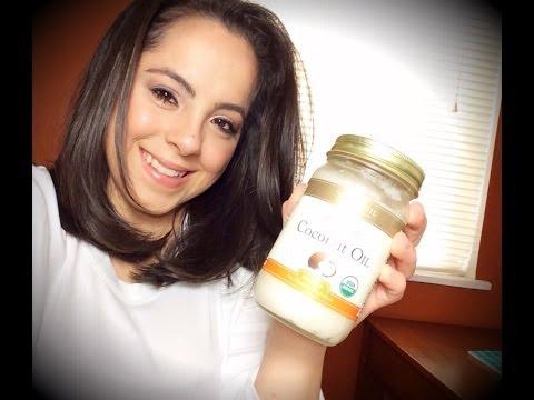 Video DIY: Coconut Oil Hair Treatment for Dry/Damaged Hair