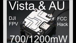 Tuto - DJI FPV Caddix Vista 700mw et 1200mw hack