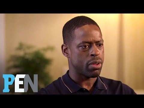 Caitlyn Jenner Prompted Heart-To-Heart Between Sterling K. Brown & Son | PEN | Entertainment Weekly