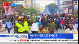 NASA's Anti-IEBC demos happening at the CBD