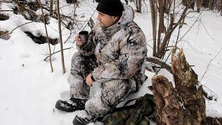 Костюмы для зимней охоты и рыбалки