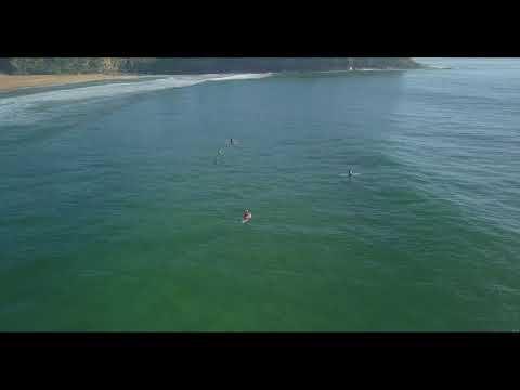 Small Surf at Bilgola Beach