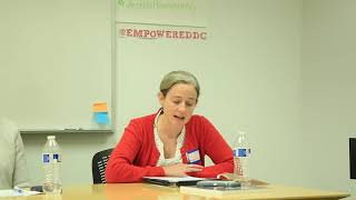 """Elizabeth Koening: """"Charter schools are public institutions...they should be public"""""""
