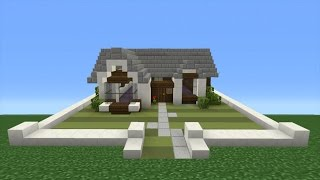 Small And Simple Minecraft House Tutorial Minecraftvideos Tv