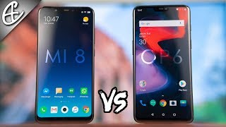 Xiaomi Mi 8 vs OnePlus 6 - 2 Flagships, 1 Winner!!!🔥⚔️🔥