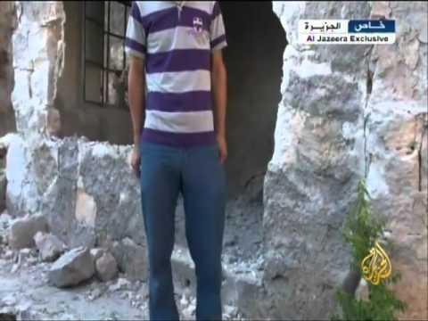 آثار الدمار ببلدة قبتان الجبل في ريف حلب