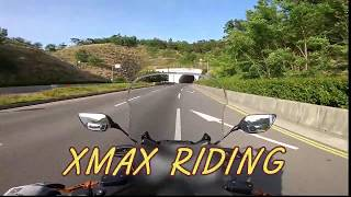 XMAX 300 RIDING FPV (AFTER WORK) 첫 바이크 라이딩 영상