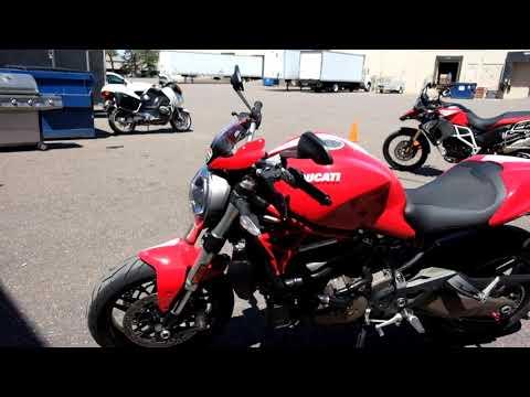 2015 Ducati Monster 821 in Eden Prairie, Minnesota - Video 1