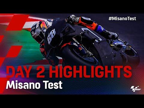 MotoGP 2021 ミサノテスト Day2ハイライト動画