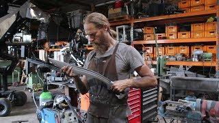Forging a Falcata sword,  the complete movie.