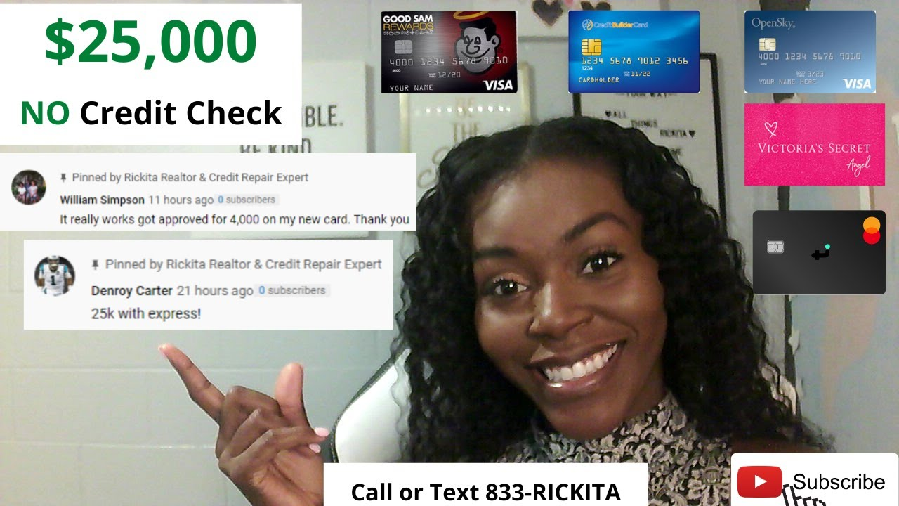 Credit Cards For Bad Credit No Deposit|HOW to do the Shopping Cart Technique Tutorial [2020]|$25,000 thumbnail