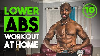 ABS WORKOUT | THE PERFECT LOWER ABS WORKOUT AT HOME (10 MINUTES)